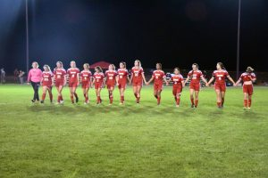 Taylor HS Girls Varsity Soccer SECTIONAL vs Tri-Central 10-7-19