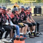 Taylor HS Varsity Football SENIOR NIGHT vs Clinton Prairie 10-4-19