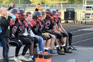 Taylor HS Varsity Football SENIOR NIGHT vs Clinton Prairie 10-4-19