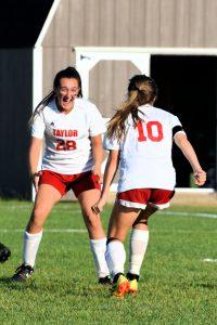 Taylor HS Girls Varsity Soccer vs Eastern 10-1-19