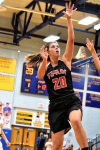 Taylor HS Girls JV Basketball vs Tri-Central 11-22-19