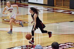 Taylor HS Girls JV Basketball vs Frankton 11-26-19