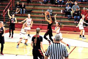 Taylor HS Girls Varsity Basketball vs Frankton 11-26-19