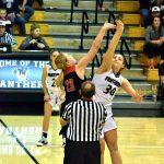 Taylor HS Girls Varsity Basketball vs Western (Won 59-55 OT) 12-27-19