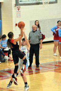 Taylor HS Girls Varsity BBall vs Maconaquah (Won 63-61) 1-14-20