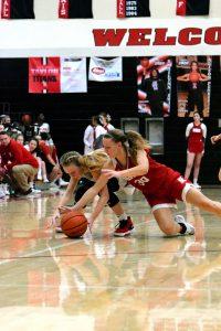 Taylor HS Girls Varsity Bball vs Rossville (Won 47-39) 1-10-20