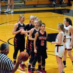 Taylor HS Girls Varsity Bball vs Clinton Prairie (Lost 38-42) 1-4-20