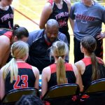 Taylor HS Girls Varsity Bball vs Alexandria (Lost 59-47) 1-28-20