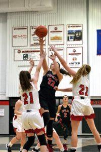 Taylor HS Girls Varsity Bball vs Sheridan (Won 39-25) 1-31-20