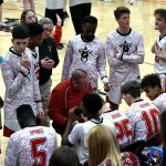 Taylor HS Boys Varsity Basketball vs Peru 2-22-20 (Lost 55-62)