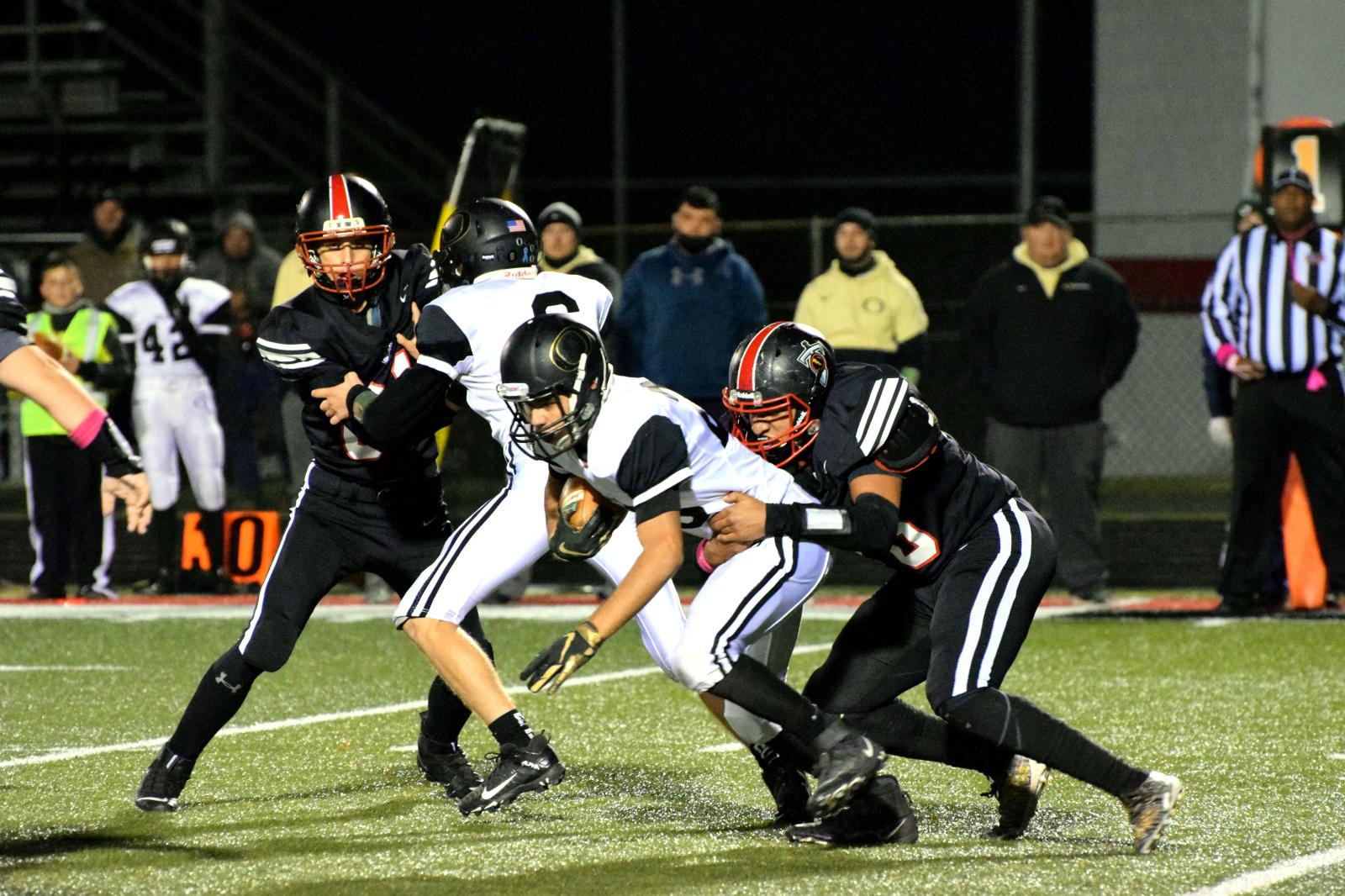 Taylor HS Varsity Football vs Delphi 10-16-20 (Lost 56-6)