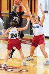Taylor HS Girls Basketball Scrimmage at Frankton 10-31-20