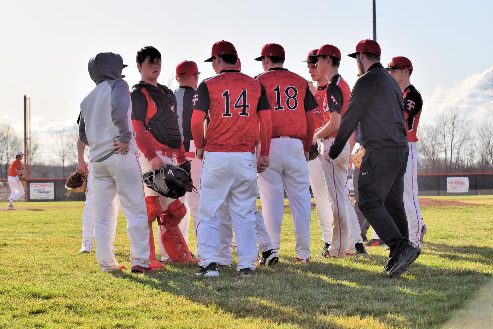 Taylor Varsity Baseball Scrimmage at  Hamilton Heights 3-24-21
