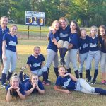Lady Hawks Softball Close with a Win