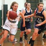 Varsity Girls in hot pursuit of a victory… …and they got it!!!