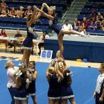 GCS Varsity Cheer Team attends UCA Camp at Lander