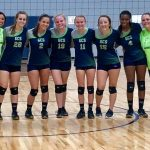 Girls Varsity Volleyball beats Newberry Academy 3 – 1