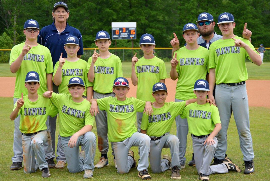 GCS Middle School Undefeated Regional Champion Baseball Team