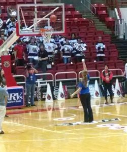 JH Girls Basketball Trip to Ball State Game