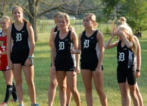 Girls' Varsity CC Home Meet on 9/1/15