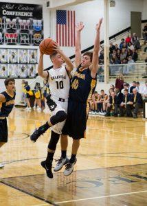 Boys Basketball against Shenandoah