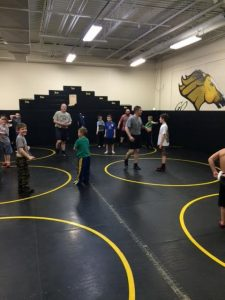 Wrestling Elementary Clinic