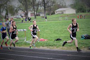 Junior High Track April 21, 2016