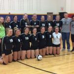 Volleyball Wins Regional Heading to Semi State