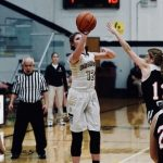 Daleville High School Girls Varsity Basketball falls to Wapahani High School 52-40