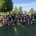 Coed Middle School Cross Country finishes 1st place at Eastern Hancock/Liberty Christian/Alex