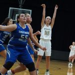 Girls Varsity Basketball beats Southern Wells 42 – 40