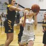 Girls Varsity Basketball falls to Monroe Central 50 – 35