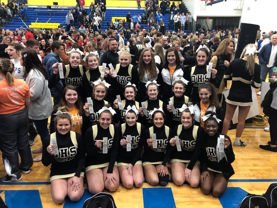 Bronco Cheerleaders advance to State Finals