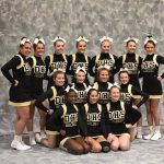 Bronco Cheerleaders take 4th at State Competition