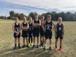 Boys Junior High Cross Country finishes 1st place and Girls 3rd at MEC Meet