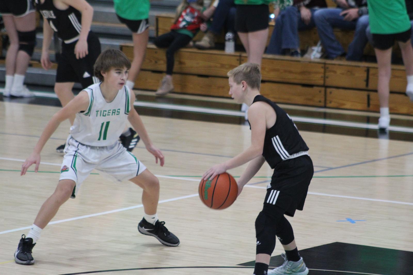 8th Grade Boys BB vs Yorktown 2020-2021