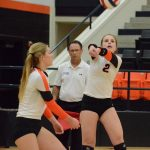 Ladycats Volleyball 4-0 in District Play