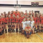 Aledo Ladycat Middle School Volleyball Scores vs. Joshua Lady Owls  9-24-15