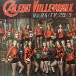 Ladycats Volleyball Take Down Burleson Lady Elks 9-29-15