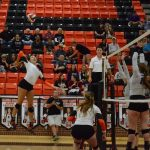 Ladycat Volleyball Battles Granbury Lady Pirates for District Win
