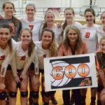 Ladycats Volleyball Earn Coach Goings 600th Career Win