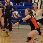 Ladycat Volleyball Falls to Burleson Centennial To Finish With One Loss in District