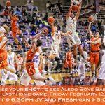 Boys Basketball Last Home Game 2.12.16