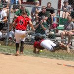 Miles Tosses No Hitter as Lady Cards Advance