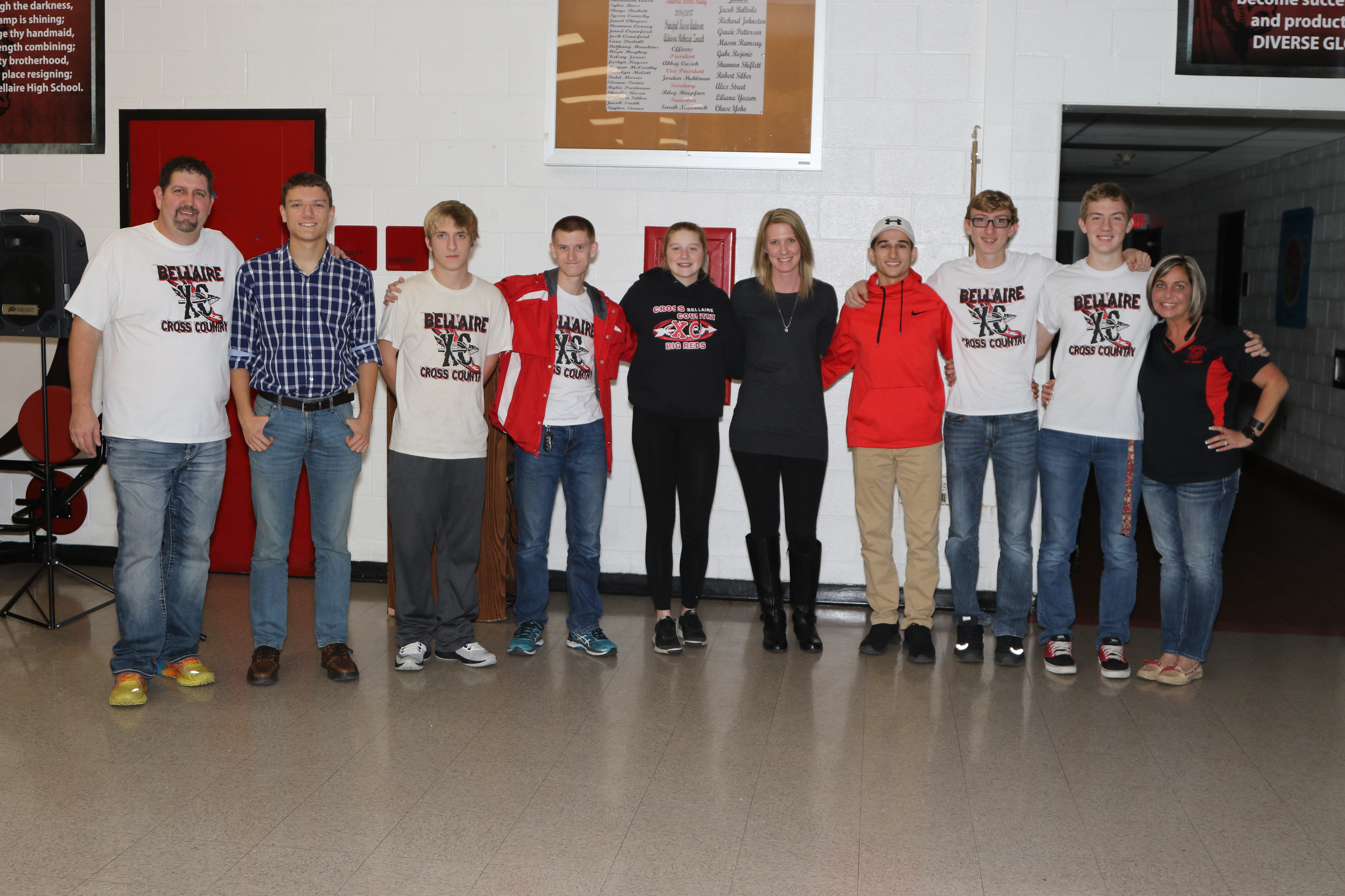 Taylor, Seniors Honored at 19th Annual Cross Country Banquet
