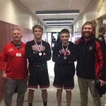 Wrestling duo begin quest at state championship meet today