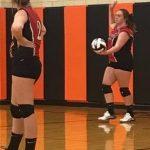 JV volleyball at Shadyside