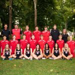 Lady Red's harriers finish a strong 7th-place in competitive 15-team field at Claymont Invitational