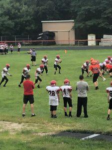 7th-8th grade football at Shadyside 8/27/19 Photo Gallery