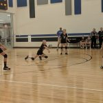 Lady Red's 7th-grade volleyball teams sweeps Harrison Central in straight sets